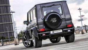 Mercedes Benz Gelandewagen Tuning Photos