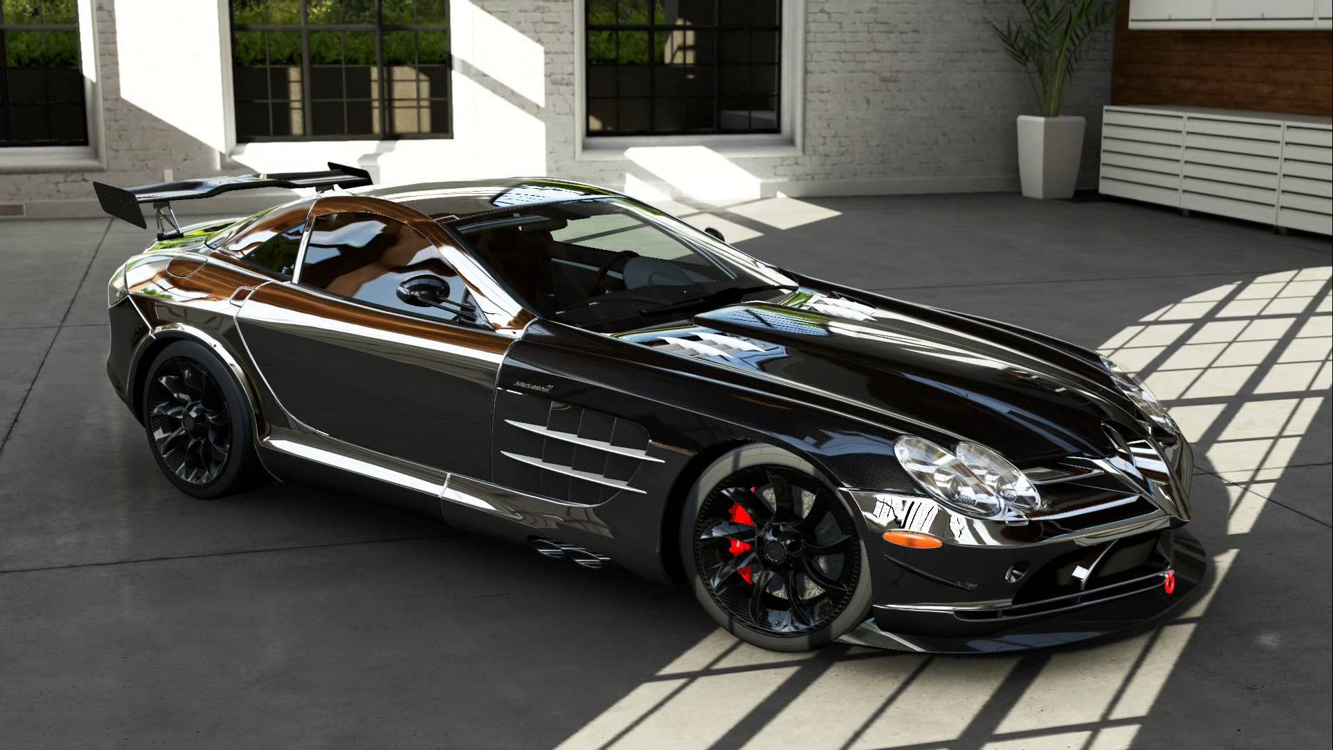 Mercedes Benz Slr Mclaren Wallpapers Images Photos