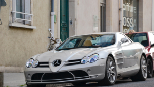 Mercedes Benz SLR McLaren Computer Wallpaper