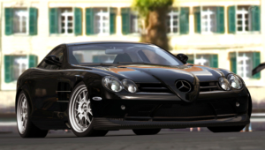 Mercedes Benz SLR McLaren HD