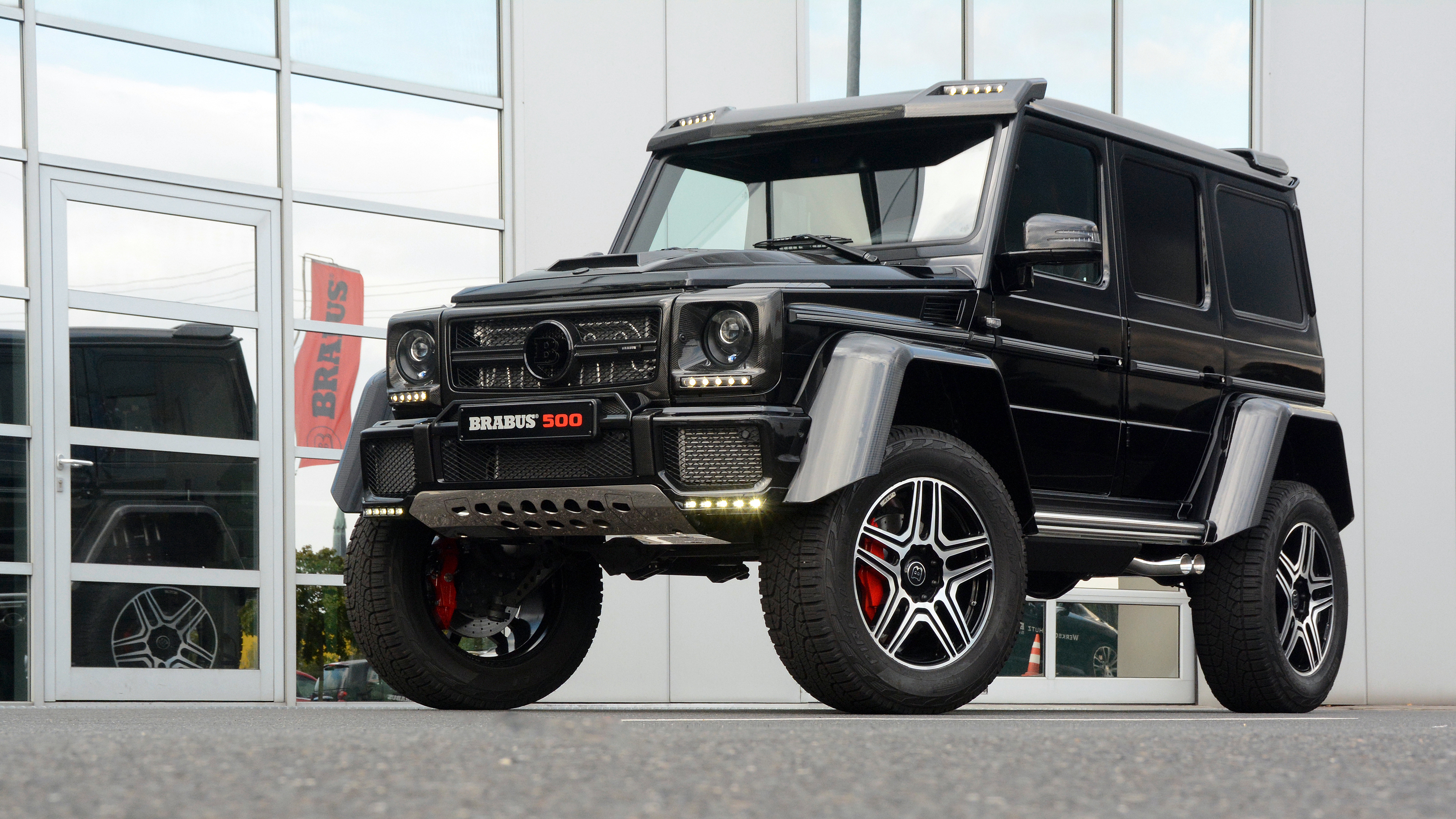 Mercedes Benz Gelandewagen Tuning Wallpapers Images Photos Pictures Backgrounds