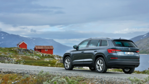 Skoda Kodiaq 2016 Background