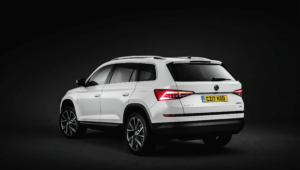 Skoda Kodiaq 2016 HD Background