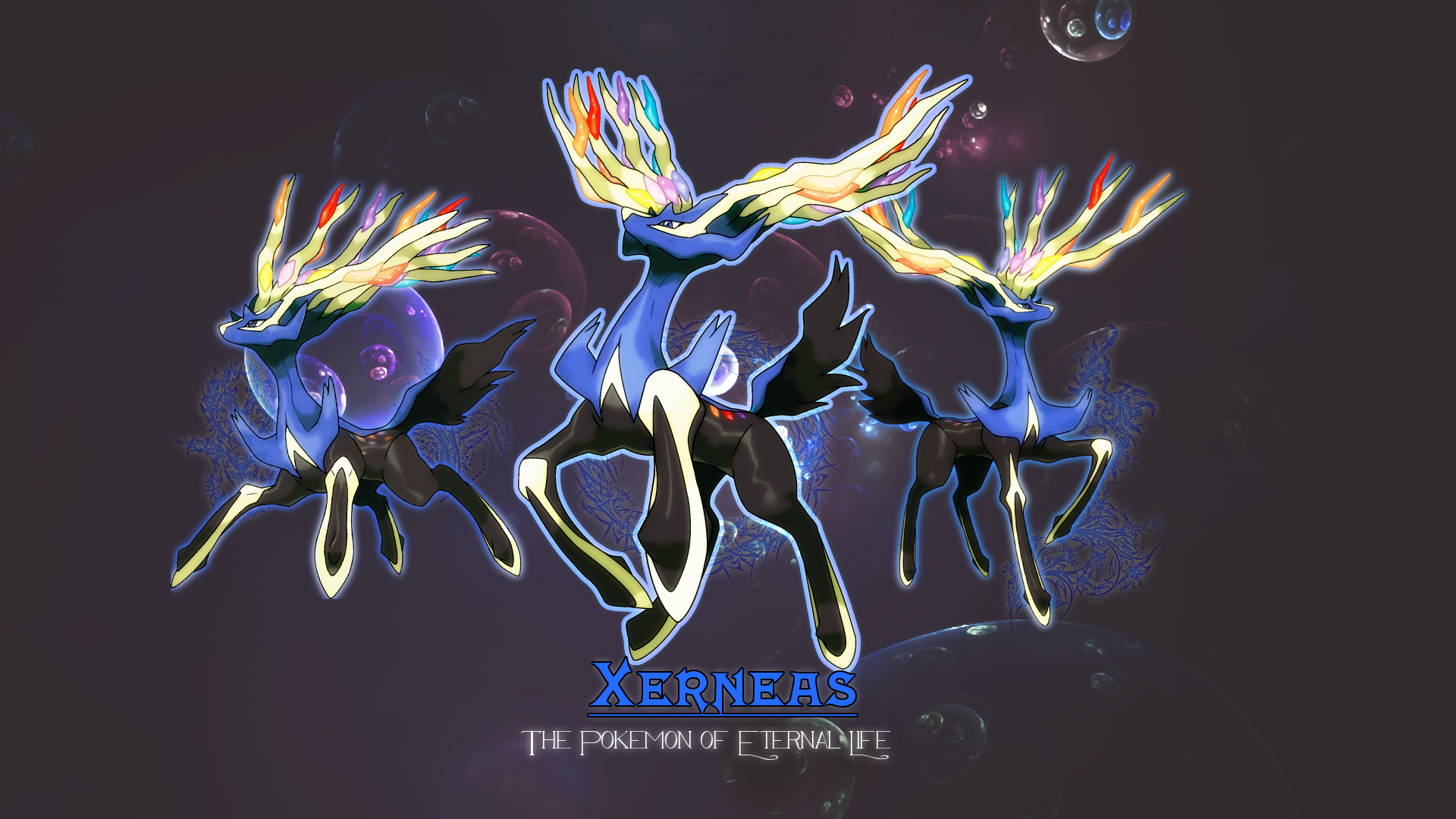 Xerneas Wallpapers Images Photos Pictures Backgrounds