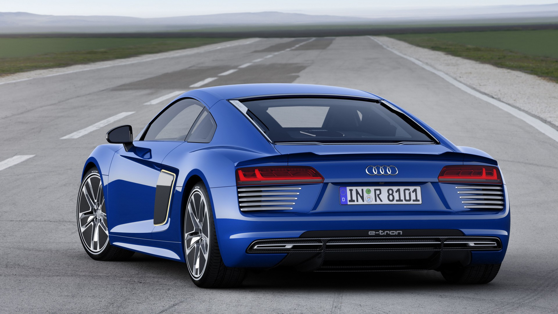 Audi R8 E Tron Images