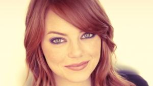 Emma Stone HD Background