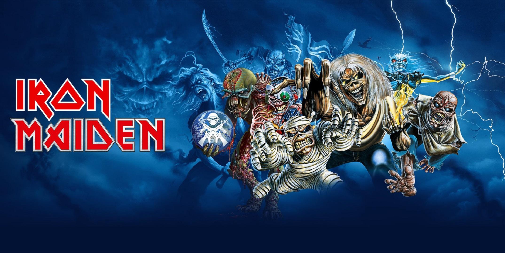 Iron Maiden Desktop Wallpaper: Iron Maiden Wallpapers Images Photos Pictures Backgrounds