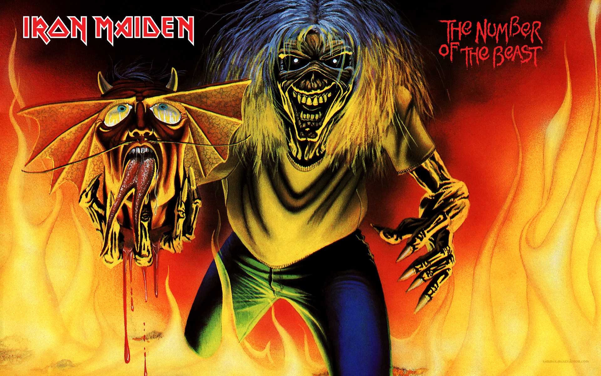 Iron Maiden Wallpapers Images Photos Pictures Backgrounds