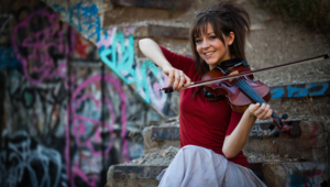 Lindsey Stirling Hd Wallpaper