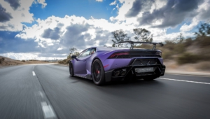 Purple Lamborghini 8514