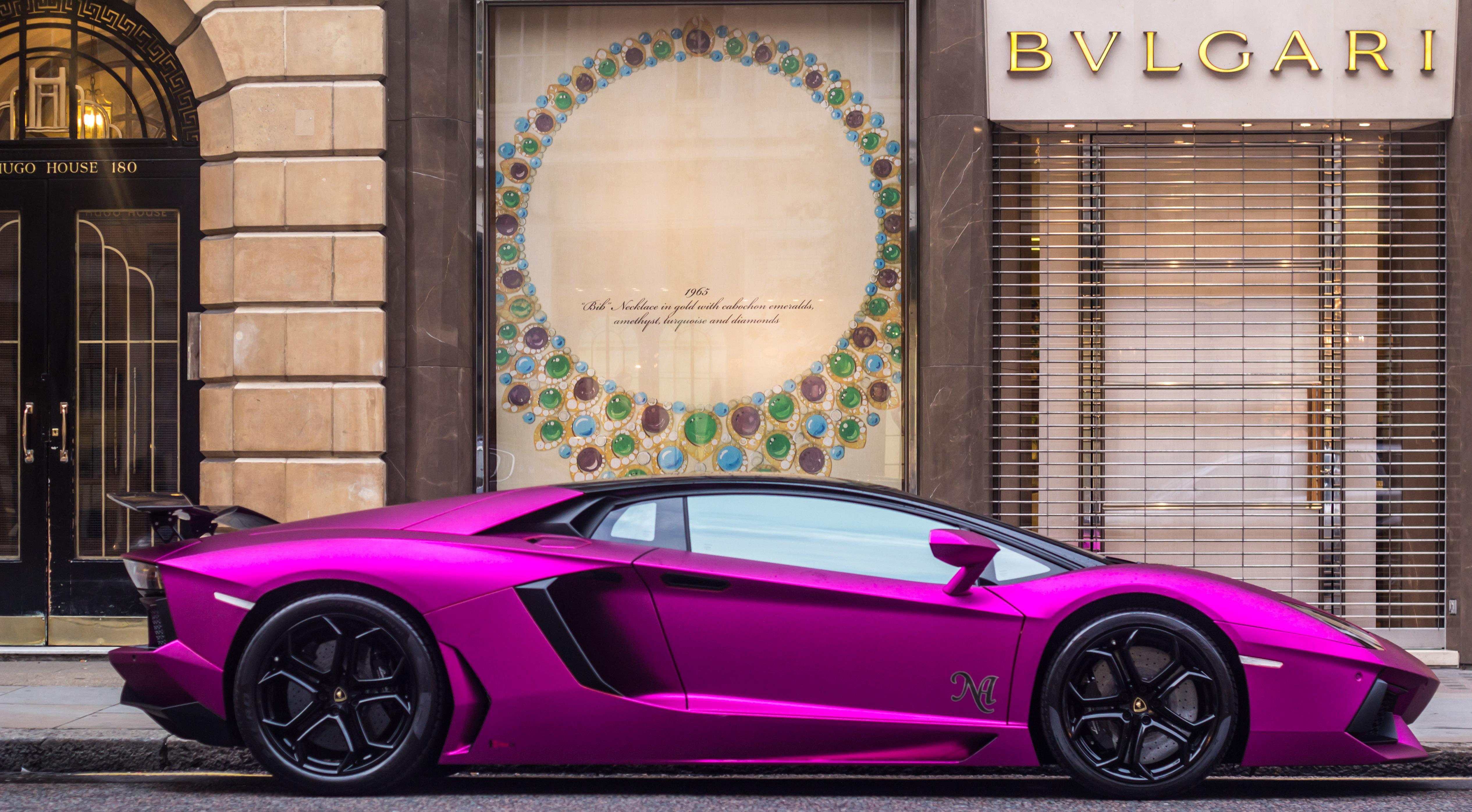 Purple Lamborghini Wallpapers Images Photos Pictures Backgrounds