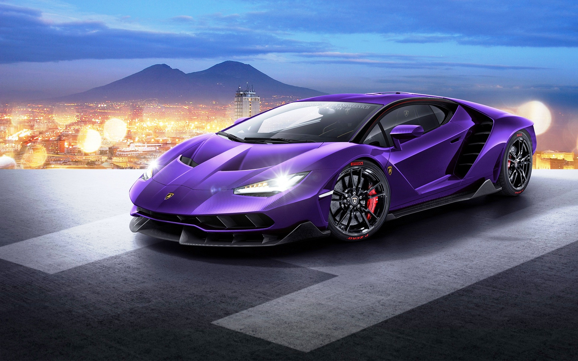Purple Lamborghini Wallpapers Images Photos Pictures Backgrounds
