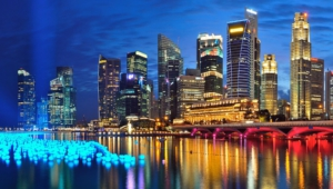 Singapore Background