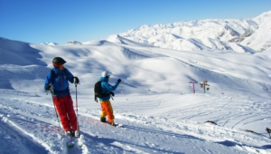 Skiing Hd Wallpaper