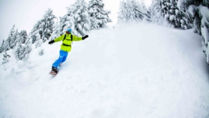 Snowboarding Hd Background