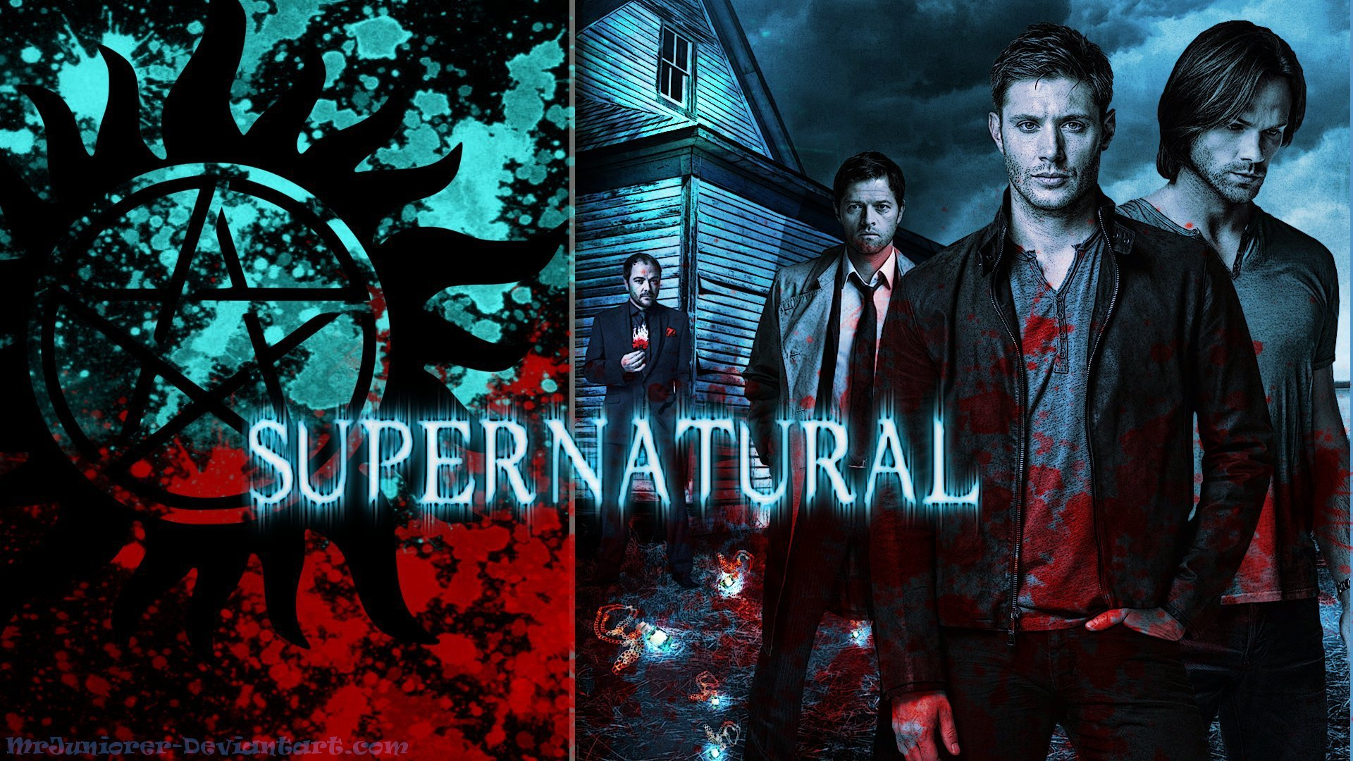 supernatural wallpapers images photos pictures backgrounds
