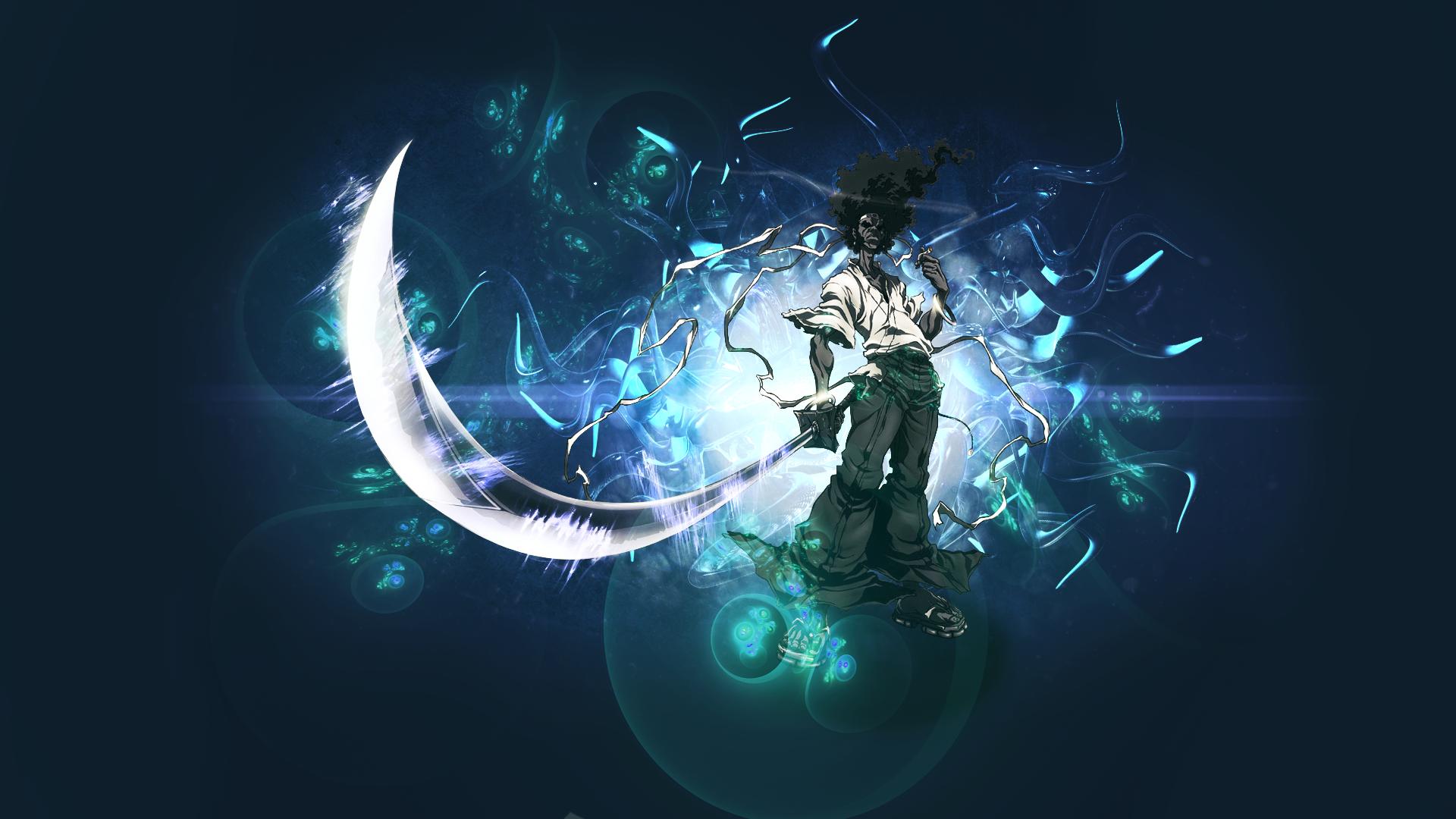 Afro Samurai Background