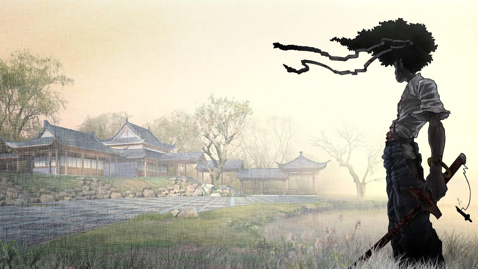 Afro Samurai Hd Background