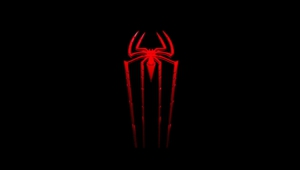 Black Spider Man Logo