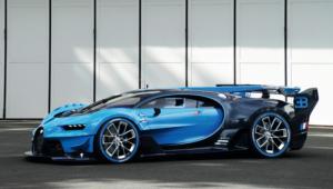 Bugatti Vision Gran Turismo Background