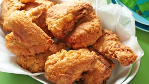 Fried Chicken Background