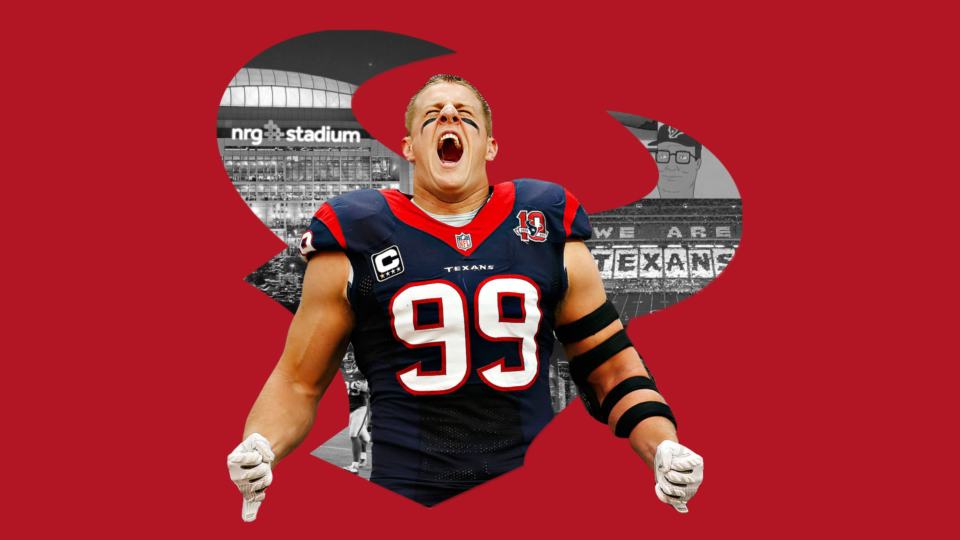 houston texans background