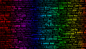 I Love You High Definition Wallpapers