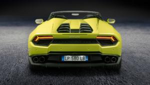 Lamborghini Huracan Rwd Spyder Pictures