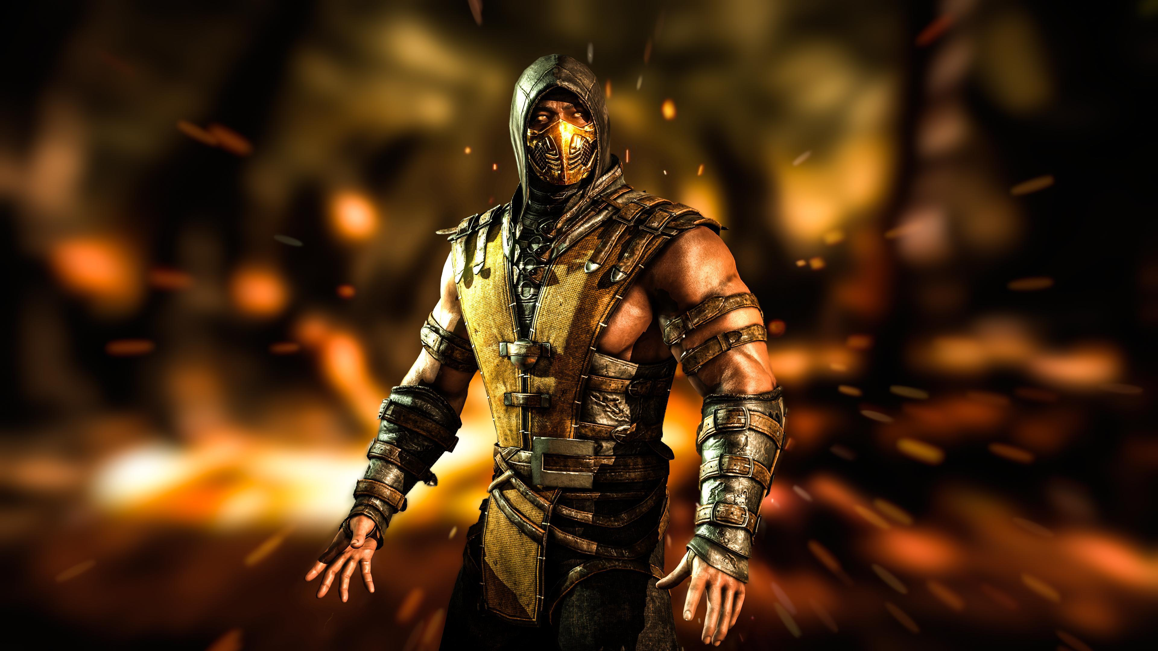 Mortal Kombat 4k Ultra Hd Wallpaper And Background Image: Mortal Kombat X 4k