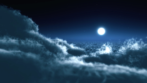 Night Sky Moon Pictures