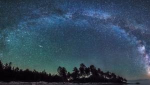Night Sky Stars 4k