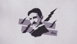 Nikola Tesla Widescreen