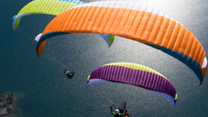 Paragliding Computer Backgrounds