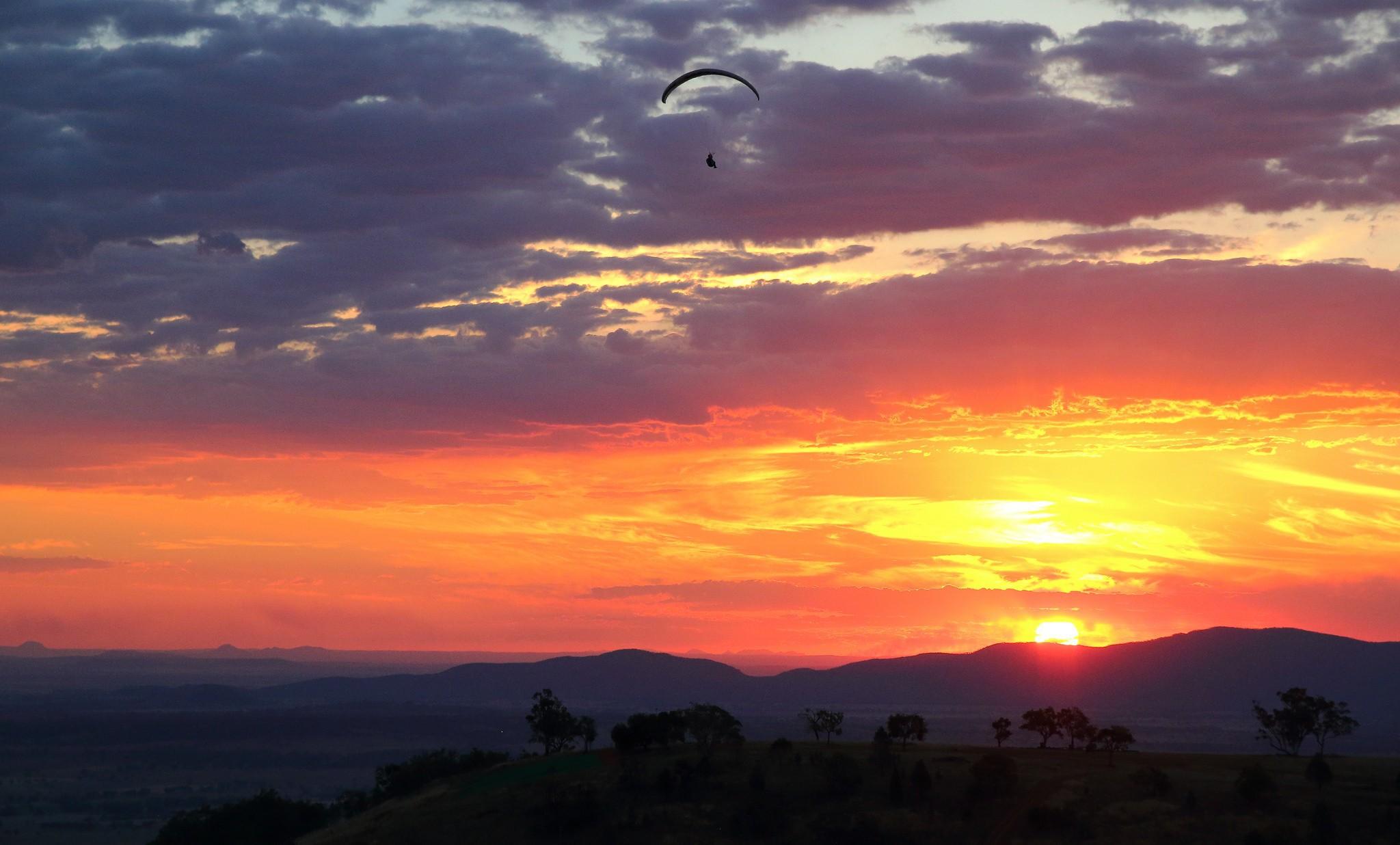 Paragliding photos