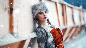 Pictures Of Winter Girl