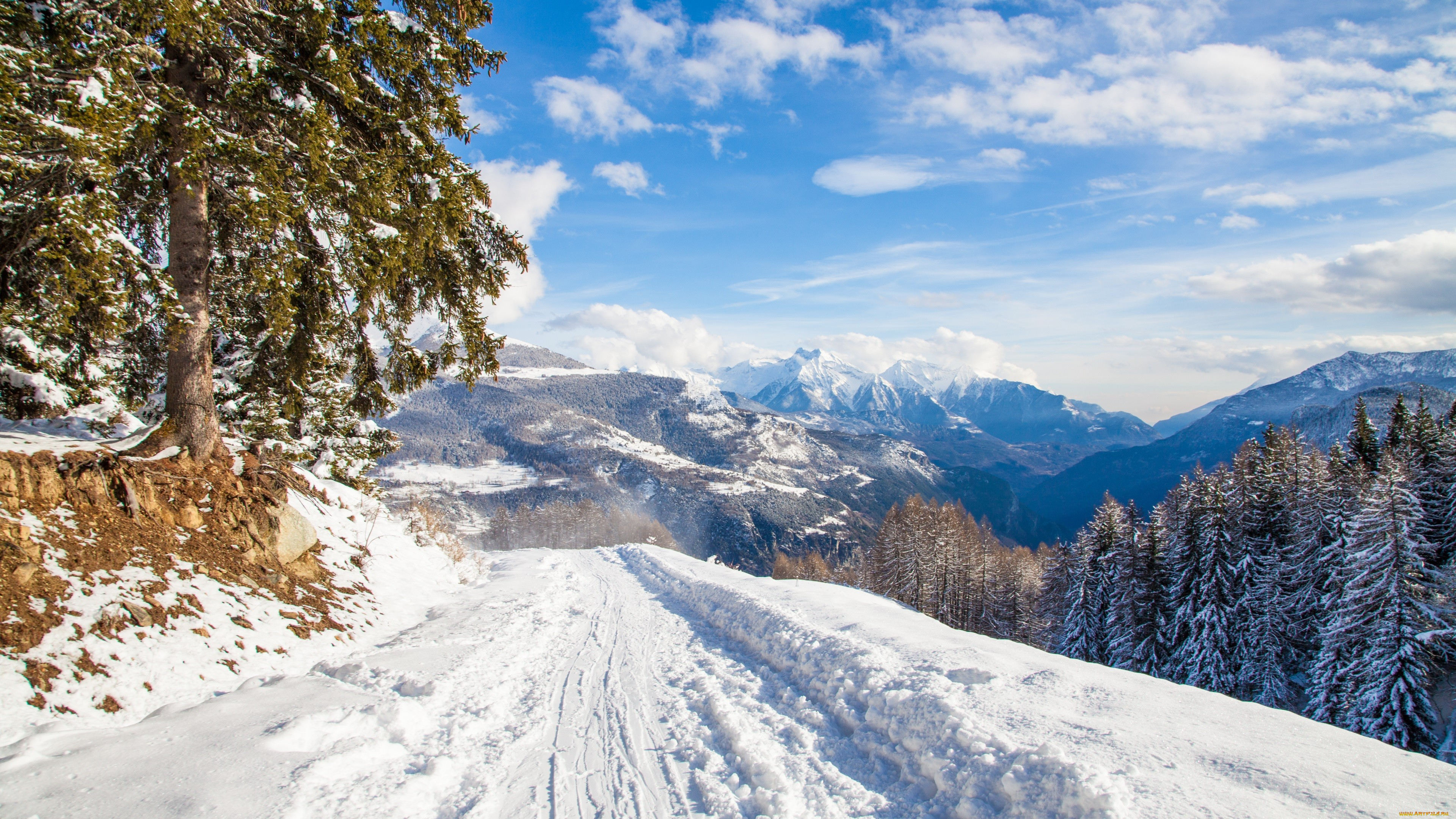 Pictures Of Winter Mountains