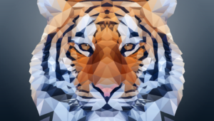 Polygon Tiger Photos