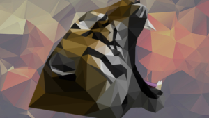Polygon Tiger Pictures