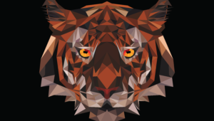 Polygon Tiger Wallpapers Hd