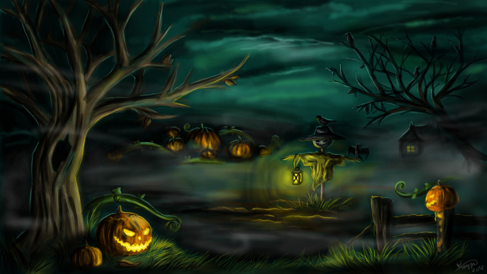 Scary halloween wallpapers images photos pictures backgrounds - Scary halloween wallpaper ...