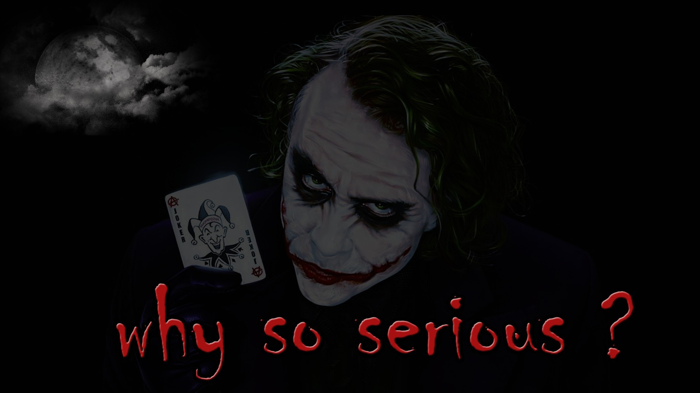 Why So Serious Wallpapers Images Photos Pictures Backgrounds