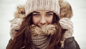 Winter Girl High Quality Wallpapers