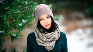 Winter Girl Wallpapers Hd