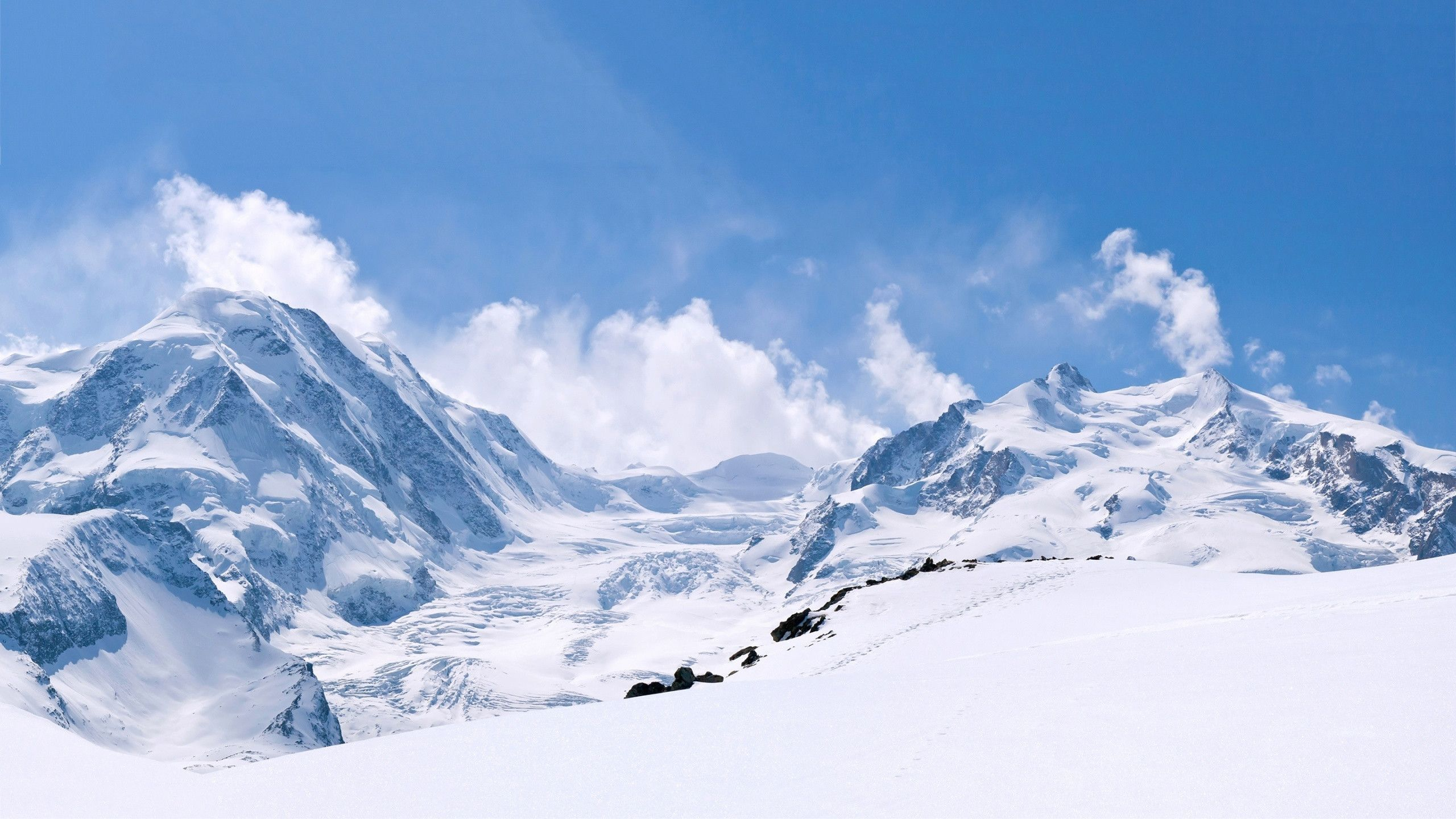 Winter Mountains Hd