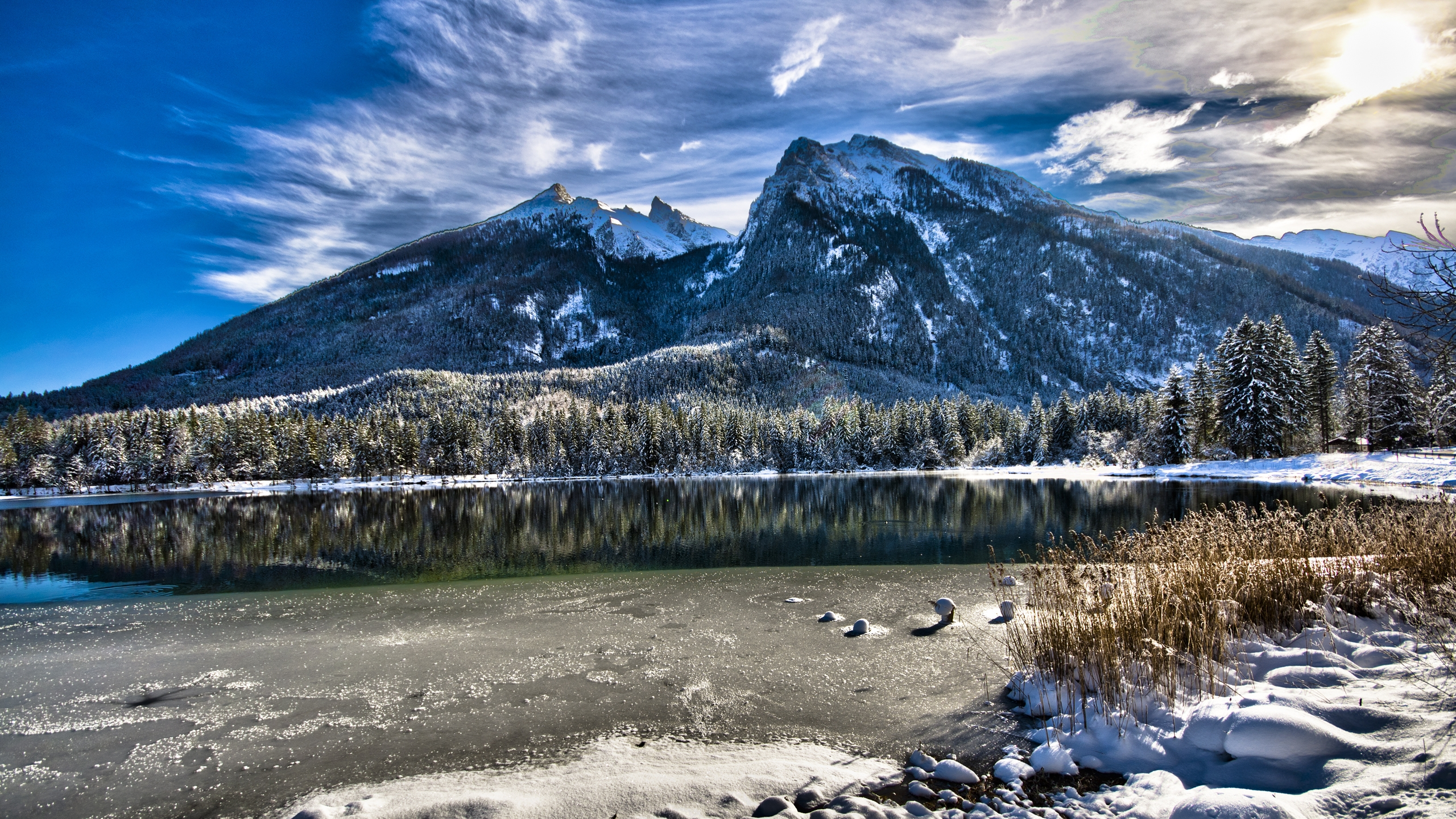 Winter Mountains High Quality Wallpapers