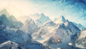 Winter Mountains Widescreen