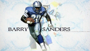 Barry Sanders Hd Wallpaper