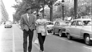 Still Of Jean Paul Belmondo And Jean Seberg In Breathless 1960 Large Picture