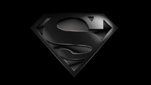 Superman Logo Black