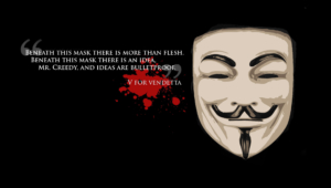 V For Vendetta High Definition